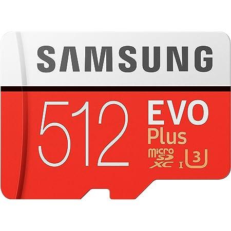 Samsung EVO Plus 512GB microSDXC UHS-I U3 100MB/s Full HD & 4K UHD Nintendo Switch 動作確認済 MB-MC512GA/ECO 国内正規保証品