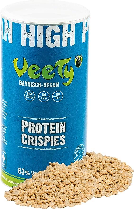 Veety Proteína de guisante vegano, neutral, 63 % de proteína, sin soja y sin azúcar, fabricado en Bavaria, 400 g