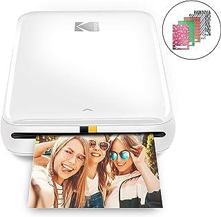 KODAK Drukarka natychmiastowa Step   Bezprzewodowa drukarka do zdjęć Bluetooth/NFC z technologią ZINK i aplikacją KODAK na...