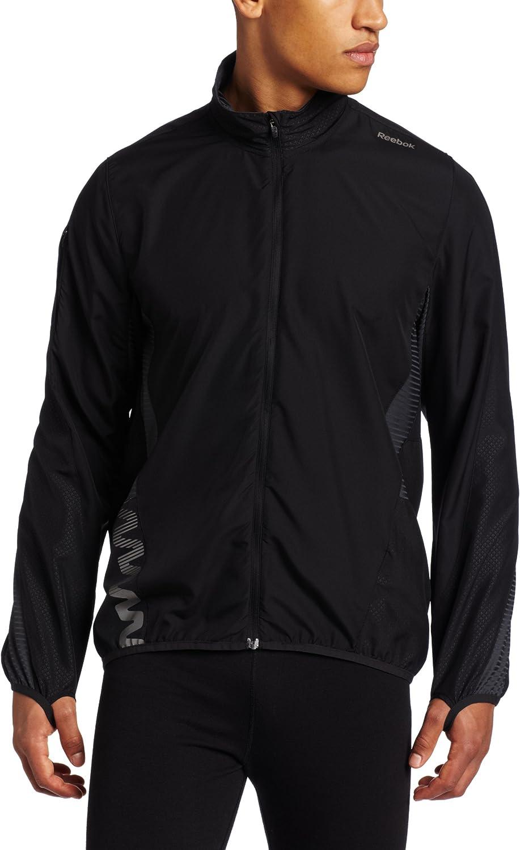 Reebok Men's ZigBlaze Superlatite Lightweight Al sold out. Jacket Black XX-Larg Running