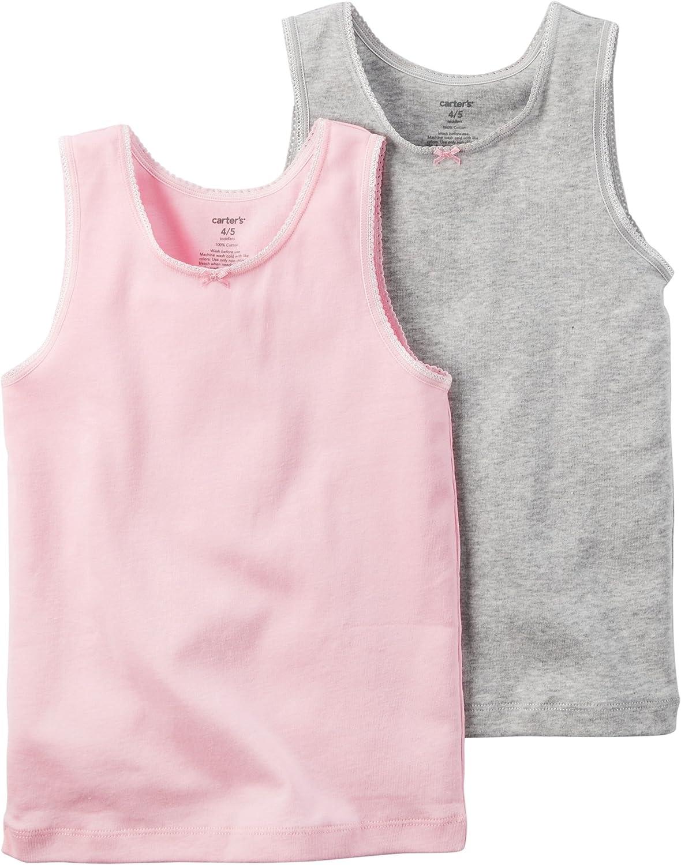 Carter's Little Girls' 2-pack Cotton Tee Set: Clothing