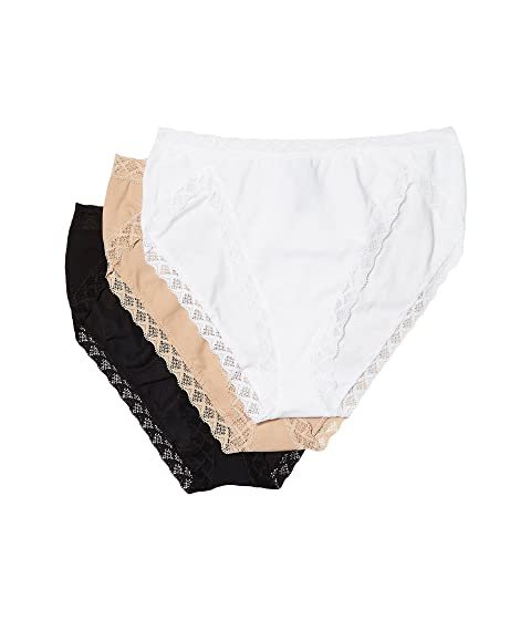 04ac6d156 Natori Bliss French Cut 3-Pack at Zappos.com