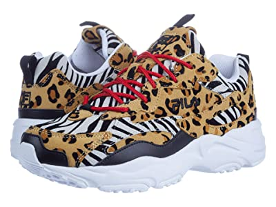 Fila Ray Tracer Animal (Black/Multi/White) Women