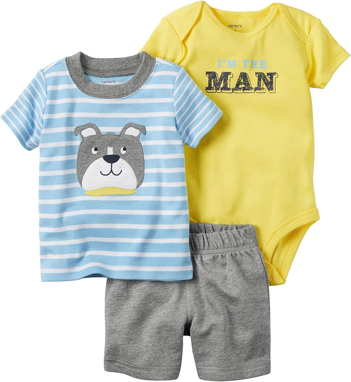 Carter's Baby Boys' Diaper Cover Sets