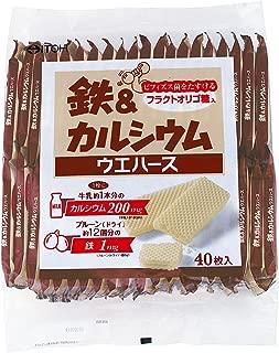 井藤漢方製薬 鉄&カルシウム ウエハース 40枚