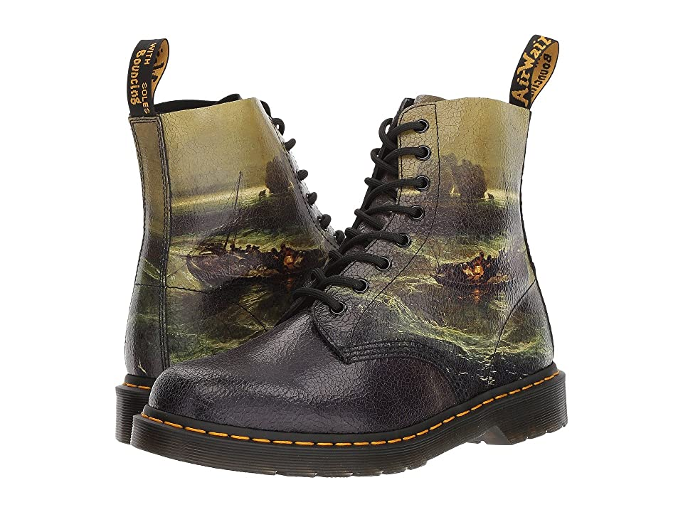 Dr. Martens Pascal (William Turner Fisherman Cristal Suede) Boots