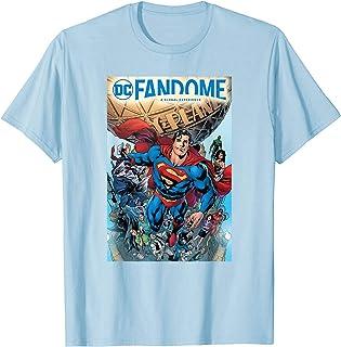 DC Fandome Superman Hero Collage T-Shirt