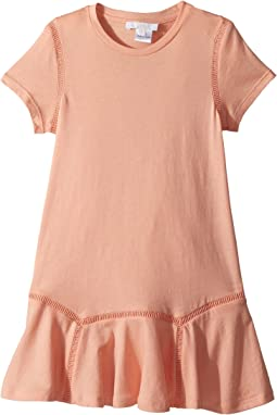 Jersey Essential Short Sleeve Dress (Little Kids/Big Kids)