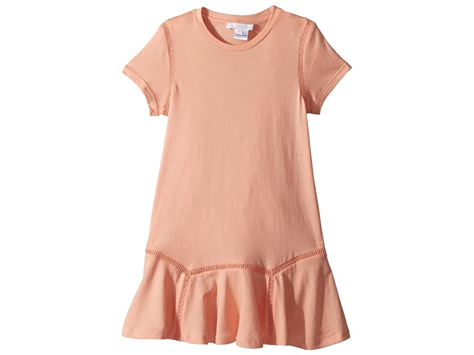 Chloe Kids Jersey Essential Short Sleeve Dress (Little Kids/Big Kids) (Rosalie) Girl