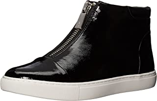 Kenneth Cole New York Women's Kayla High Top Front Zip Sneaker Patent Fashion