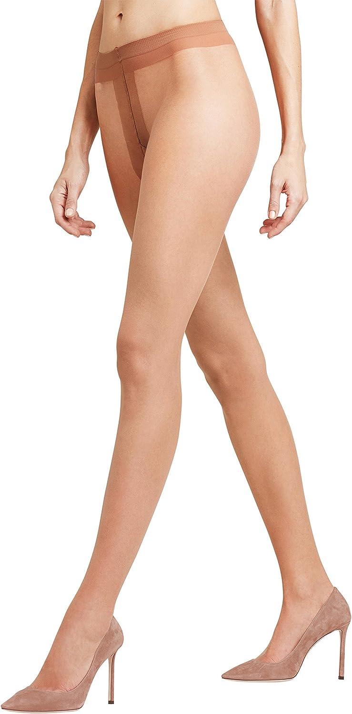 Falke Women's 1 Pair Shelina 12 Denier Ultra Transparent Tights with Shimmer Extra Large Noisette