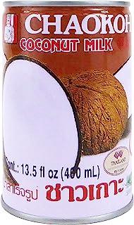 Chaokoh Coconut Milk 24 Pack - Creamy Non Dairy Milk, No Preservatives or Artificial Flavors, Canned Coconut Milk (13.5 Oz...