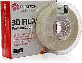 Filatech 3D Printing FilaPLA Filament, 1.75 mm +/- 0.03 mm, 1.0 Kg Spool, 100% Virgin Material, Made in UAE Natural White Ph120