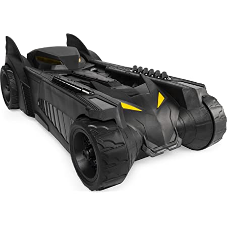 for Use 4-Inch Action Figures BATMAN Batmobile and Batboat 2-in-1 Transforming Vehicle