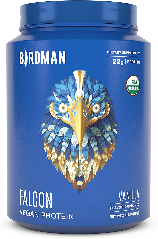 Birdman Falcon Large discharge sale Premium Los Angeles Mall Organic Plant Vegan Powder Based Protein
