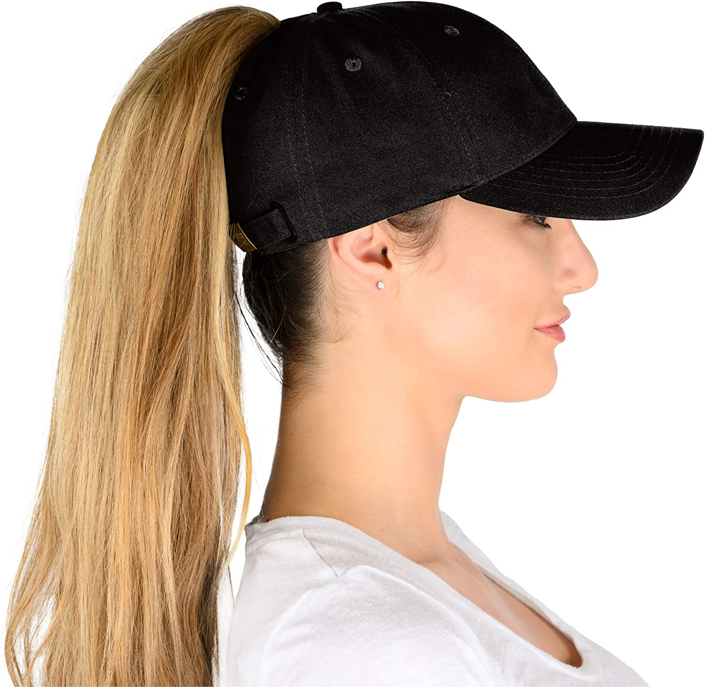 Phrase3 Ponytail Hat - Caps Womens Baseball Finally resale start Gifts