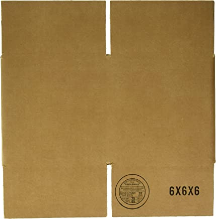 6x6x6 Corrugated Shipping Box Bundle/25