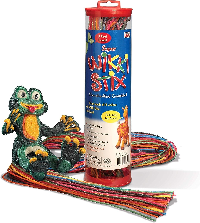 Cheap SALE Start trend rank Arts and Crafts for Kids Super Long Feet Non-Toxic Stix 3 Wikki
