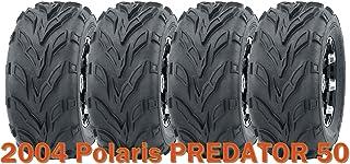 16x8-7 WANDA ATV tires set for 2003-2017 Kawasaki KFX 50 KSF 50 4