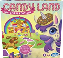 Candy Land Unicorn Edition Board Game, Preschool Game, No Reading Required Game for Young Children, Fun Game for Kids...