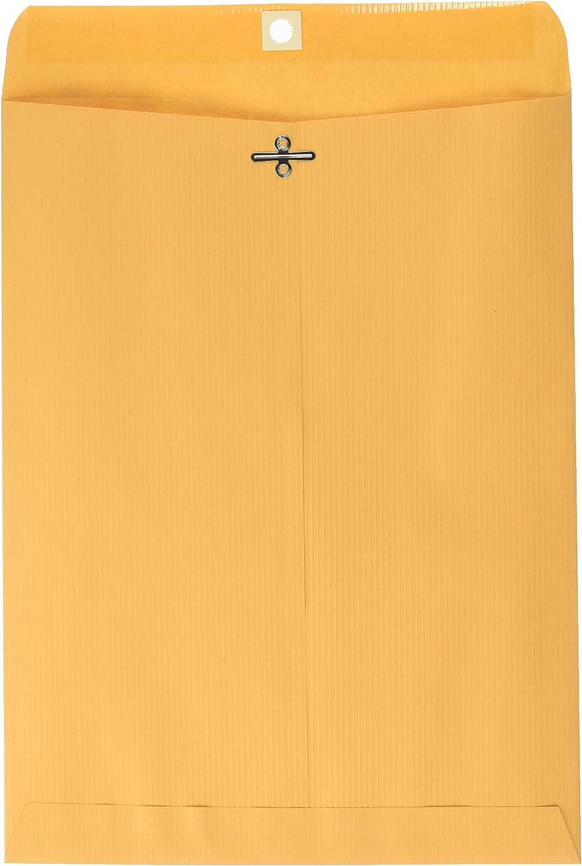 Quality Park 55% OFF Clasp Envelopes Gummed Brown p 9 Super Special SALE held 12 Kraft x 100