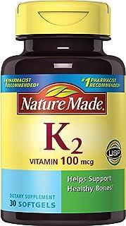 Nature Made 莱萃美 维生素 K2 100 微克 30 粒软胶囊
