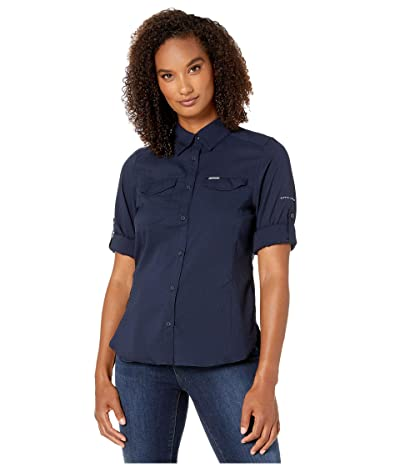 Columbia Silver Ridge Lite Long Sleeve Shirt (Dark Nocturnal) Women