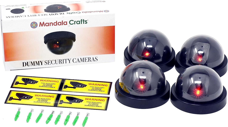 Fake Security Camera - Dome Surveilla Colorado Springs Mall shopping Dummy CCTV