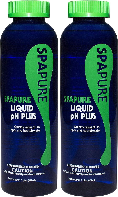 Seasonal Wrap Introduction PureSpa SpaPure Liquid pH Plus Spring new work 16 oz Pack 2