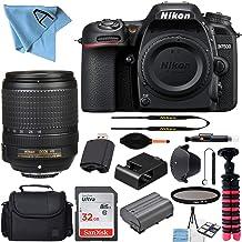 $1054 » Nikon D7500 20.9MP DSLR Digital Camera with AF-S DX NIKKOR 18-140mm f/3.5-5.6G ED VR Lens + SanDisk 32GB Memory Card + Cam...