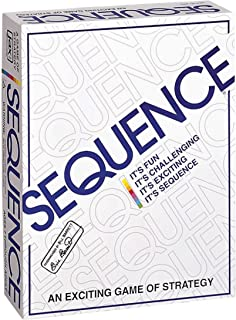 Jax Sequence - Original Sequence Game with Folding Board, Cards and Chips