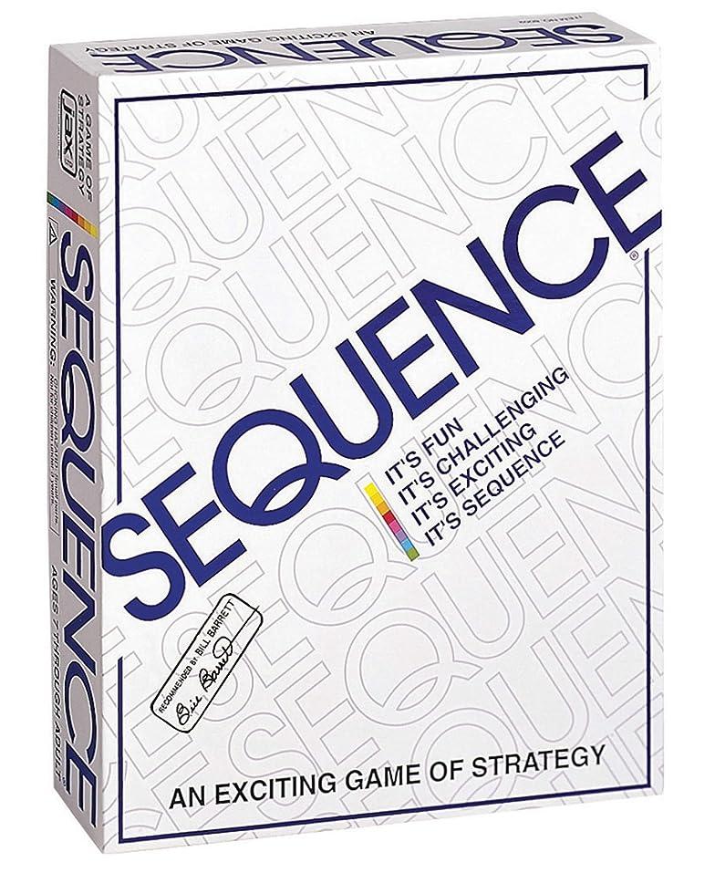 くしゃみ発生器花輪シークエンス Sequence 米国発 五並べ ボードゲーム 8002 正規品