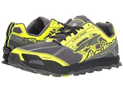 Altra Footwear Lone Peak 4 (Gray/Yellow) Men
