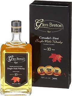 """Glen Breton Rare 10 Years Old Canada""""s First Single Malt Whisky mit Geschenkverpackung 1 x 0.7 l"""
