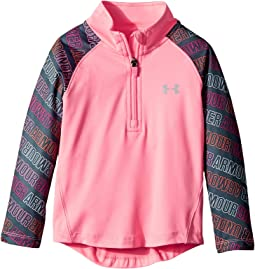 Under Armour Kids - Wordmark 1/4 Zip (Toddler)