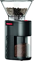 Bodum 11750-01US Bistro Burr Coffee Grinder, One Size, Black