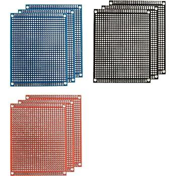 10pcs 50mm x 70mm Copper Strip Stripboard PCB Printed Circuit Board For Soldering Prototype DIY