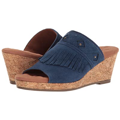 Walking Cradles Aniston (Dark Blue Max Suede) Women