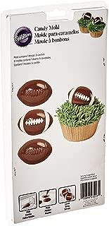 Wilton 2115-0227 Football Candy Mold
