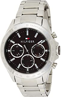 Tommy Hilfiger Men's Quartz Watch, Analog Display and Stainless Steel Strap 1791229