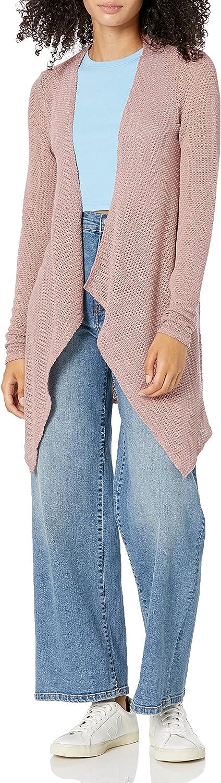 Volcom Women's Regular Go Wrap Open Front Cardigan Sweater (Regular & Plus Size)