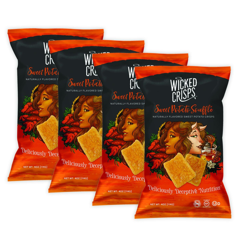 Baked Veggie Chips El Paso Mall Wicked 55% OFF Crisps He Sweet Soufflé Potato -