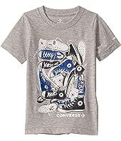 Short Sleeve Photorealistic Chucks Pile Graphic T-Shirt (Little Kids)
