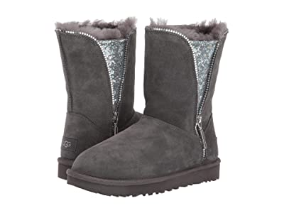 UGG Classic Zip Boot (Charcoal) Women