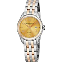 Baume & Mercier Clifton Two-Tone Stainless Steel Women's Watch