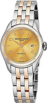 Baume & Mercier Clifton Two-Tone Stainless Steel Women's Watch