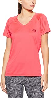 The North Face Women's Short Sleeve Reaxion V-Neck