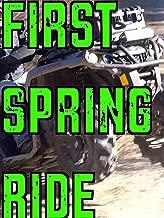 First Spring Ride