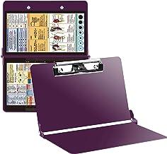 JEBBLAS Foldable Nurse Clipboard with Generous Storage Ideal Gifts for Nursing Students Lightweight Aluminum Nursing Board Nurses and Healthcare Professionals