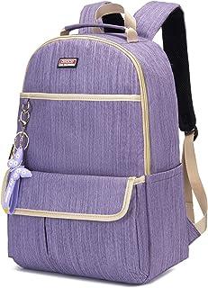 Laptop Pack, Andoer Women Backpack with Key Holder Laptop Shoulders Bag for College Travel Trip